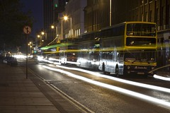 dublin at night (fxgeek) Tags: city dublin night lighttrails