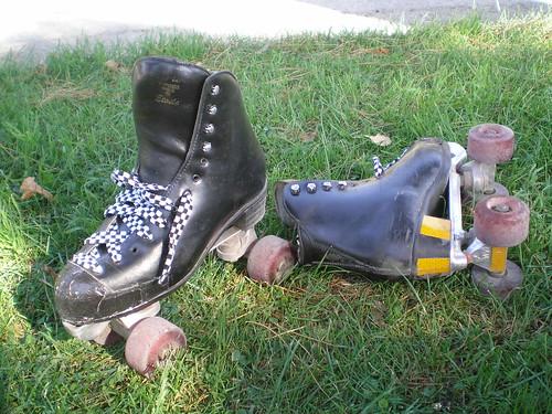 Botas para patinar (Foto de: Brocco Lee)