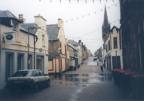 Stornoway Town Centre on Sunday afternoon