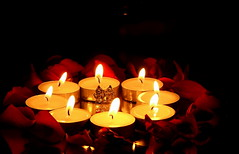 Happy Diwali (m4r00n3d) Tags: india festival lights edinburgh candles fuji flame diwali hindu fujis5500