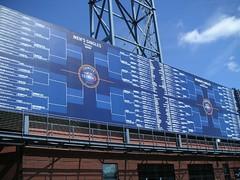 US Open Singles Scoreboard