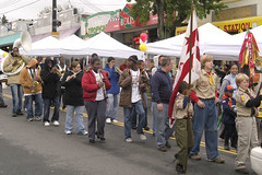 Boy Scouts at the 2006 brookland Day Festival - Photo from the Brookland CDC