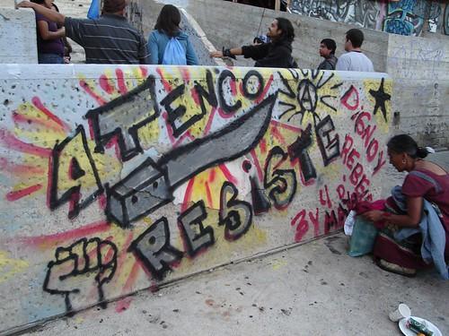 Atenco Resiste por El Tin / poeta / dreamer.