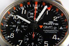 FORTIS B-42 Pilot Professional Chronograph GMT