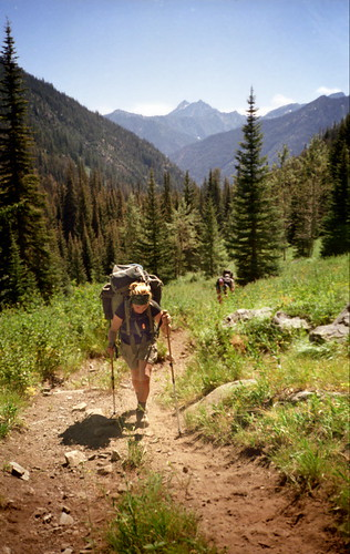 Devon on Trail