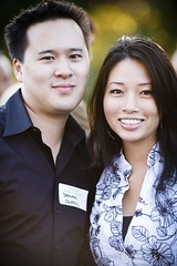 Hitatchi Blogger Jeremiah Owyang and his wife ...
