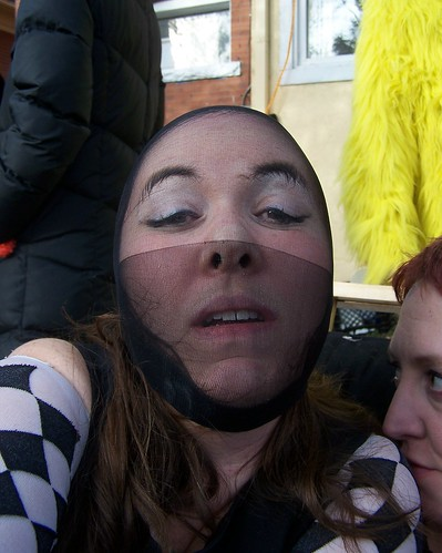 selfportrait me costume sasha sondra 365days coinoperatedgirl wigcapmayhem yesthatisachickeninthebackground checkeredpast
