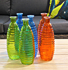 Jars (sallyNZ) Tags: scavenger19 jars coloured shop