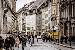Walking the Streets of Munich (RandomWalking) Tags: germany munich mansions neoclassical baroque architecture roads streets