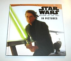 star wars in pictures 4 book box set ryder windham and brian rood disney 2016 g return of the jedi (tjparkside) Tags: star wars pictures 4 book box set 2016 disney lucasfilm isbn 9781760128456 episode four five six seven iv v vi vii 5 6 7 anh new hope empire strikes back tesb esb rotj return jedi force awakens tie fighter fighters millennium falcon rey jakku scavenger bb 8 bb8 droid luke skywalker sail barge tatooine darth vader bespin outfit cloud city x wing xwing pilot illustrator brian rood author ryder windham
