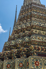 2016_04-Bangkok-M00176 (trailbeyond) Tags: architecture asia bangkok building location outdoors pattern recliningbuddha religiousbuilding statue temple texture thailand tower watpho yellow