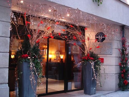 Venez découvrir les décorations de Noël des Hôtels Paris Rive Gauche