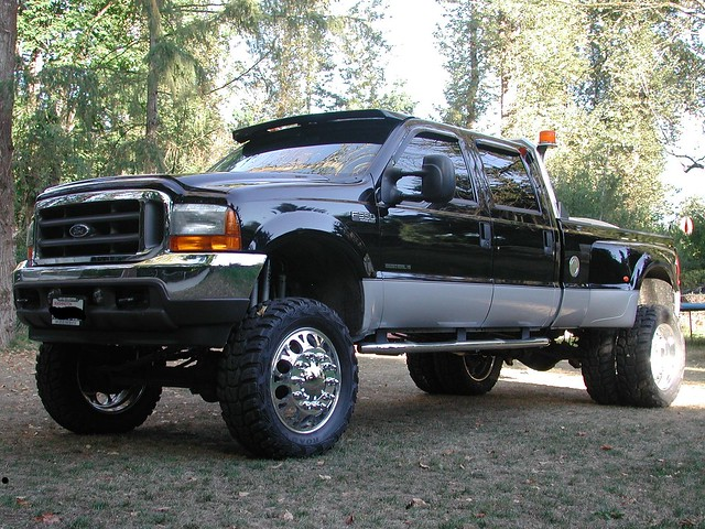 2001 dually crewcab fordf350