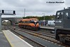 073 arrives at Kildare, 26/3/18 (hurricanemk1c) Tags: railways railway train trains irish rail irishrail iarnród éireann iarnródéireann kildare 2018 generalmotors gm emd 071 dfds detforenededampskibsselskab 1130waterfordballina 083 073