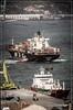 Atracando el MSC Anahita cerca del Excalibur (Tartarugo) Tags: pentax k5 iis puerto porto de vigo galicia españa spain tartarugo guixar muelle del do comercio martes tuesday abril april primavera spring 2018 vessel barco ship navio buque porta contenedores container