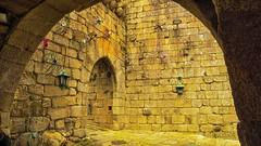 La  pared de las arañas (XUVIRA) Tags: vilanovadecerveira arañas castillo portugal