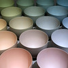Bowls (YIP2) Tags: stoneware terrasigillata art museum rotterdam exhibition boijmans colour color geertlap bowl bowls ceramics minimal minimalism simple circle square carre