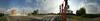 Дорога между ФПК и Южным (avkbe) Tags: россия russia kuzbass kemerovo city panorama 360 березоваяроща город дома дорога жилойкомплекс заводскийрайон зебра кемерово круговая кузбасс лето молодежный панорама перекресток проспект светофоры строительство фпк южный