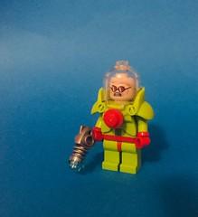 Mr Zero (RooFigs) Tags: mrzero campy old classic victor freeze mrfreeze cold ice gun lego photo custom figure
