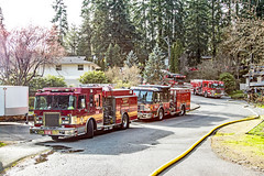 Residential Fire in Lynnwood (andrewkim101) Tags: lynnwood wa washington state snohomish county