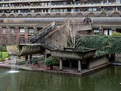 Barbican 9579 (stagedoor) Tags: cityoflondon barbican artscentre listed grade2 building architecture olympus omdem1mkii copyright london city glc greaterlondon capital england uk chamberlinpowellbon brutalist