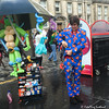 The Balloon Man & the Umbrella (FotoFling Scotland) Tags: 2015 arts edinburgh edinburghfestivalfringe royalmile august balloon highstreet performer promotion streetperformer streettheatre umbrella fotoflingscotland