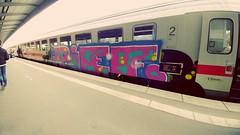 #db loves #Graffiti (n0core) Tags: farbe vandalism pief schland db sachverschönerung bahn graffiti mullern nrw dblovesgraffiti