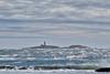 Waves and Sambro Lighthouse from Sandy Cove, Nova Scotia (internat) Tags: 2018 canada novascotia ns sambrolighthouse sandycove clouds waves aurorahdr hdr eosm5 mirrorless handheld lighthouse