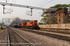 180306_39 (The Alco Safaris) Tags: alco dlw rsd29 dl560 indian railways broad gauge bndm wdm3a 16144 16118 muniguda 18005 howrah jagdalpur samaleshwari express passenger train india