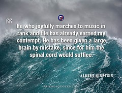 Albert Einstein Quote who joyfully marches (Friends Quotes) Tags: alberteinstein been brain contempt cord earned einstein file german given him joyfully large marches mistake music physicist popularauthor rank spinal suffice who would
