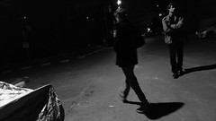 Tel Aviv, 2018 (dariaalex) Tags: people shadow night walk street portrait bw monochrome black award