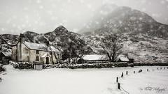 Tryfan Winter (Gav Jones Landscape & Nature Photography) Tags: snowing winter tryfan