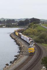 Friday MRVWS (imartin92) Tags: pinole california unionpacific railroad railway freight train emd sd70m sd59mx sd60m rebuild locomotive