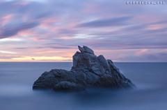 2018_03_31_cale frares (kbl phtogaphy) Tags: nikon nikon5100 samyang samyang10mm aigua agua mar efectoseda albada costa rocas