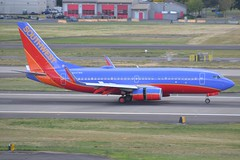 N257WN (LAXSPOTTER97) Tags: southwest airlines boeing 737 737700 n257wn cn 32515 ln 2062 airplane airport aviation kpdx