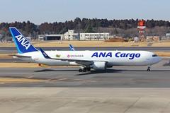 B767 JA605F Tokyo Narita 03.03.18 (jonf45 - 4 million views -Thank you) Tags: tokyo narita airport rjaa japan civil aircraft airliner jet plane aviation flight 2018 b767 767 ana cargo boeing 767316fw ja316f