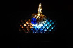 Rings 2 (NIKON 505) Tags: rings nikon d610 blue orange green gel magmod maggrid maggel sb800 gold diamonds