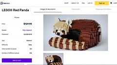 Panda Mochub (Felix Jaensch) Tags: panda lego sculpture mochub cute