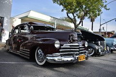 22nd Annual La Verne Cool Cruise (USautos98) Tags: 1947 chevrolet chevy fleetline bomb lowrider