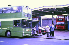 Slide 117-05 (Steve Guess) Tags: hounslow london england gb uk bus regional transport country south west an leyland atlantean route110 manchester greater buses gmpte gnc293n an357