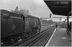 What's wrong mister? (pjs0784) (geoff7918) Tags: bullied battleofbritain 34066 spitfire hernehill schoolboys station driver fireman