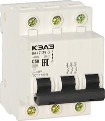 Автоматический выключатель ВА47-29-3С50-УХЛ3-КЭАЗ (Реле и Автоматика) Tags: автоматический выключатель ва47293с50ухл3кэаз