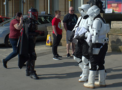 Dressed up (Tony Worrall) Tags: scifiscarborough scarboroughscificonvention2018 sci fi scarborough convention 2018 starwars spa yorkshire cosplay costume play stormtrooper event show fun outdoor bus ride travel holiday film fantasy urban candid people person capture outside outdoors caught photo shoot shot picture captured pictures street photos britain english british gb buy stock sell sale resort england regional region area northern uk update place location north visit county attraction open stream tour country welovethenorth