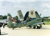 RN Seafire (Gerry Rudman) Tags: vickers supermarine seafire mk 17 royal navy rnas yeovilton sx 336 105 air day 2006 warrigton 1973 stretton
