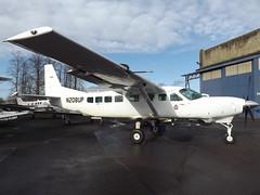 N208UP Cessna Grand Caravan 208B Sal Inc Trustee (Aircaft @ Gloucestershire Airport By James) Tags: cranfield airport n208up cessna grand caravan 208b sal inc trustee egtc james lloyds