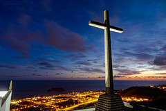 The CROSS (MeKAiles Photographie) Tags: croix cross saint acores azores keulkeulmike sony rx rx10 rx10iii rx10m3 long exposure sky paysage paysages panorama landscape landscapes voyage travel trip night nightshot nightview catchycolors canaries canary island islands bridge 1 1sensor ocean beautiful earth colored colors ciel couché sunset sunlights sunsets sunlight