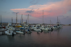 Paphos Habour (ARGreen93) Tags: paphos pafos habour habor sea coast long exposure landscape sky clouds boats sunset canon 5d mark iv