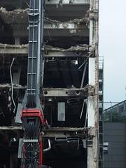 Found Demolition Face (mkorsakov) Tags: dortmund city innenstadt baustelle constructionsite abriss demolition foundface