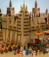 The Lost Palace at Timbuktu (Ɲ.) Tags: lego africa african moc historical history islam muslim mali empire castle medieval architecture diorama