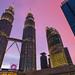 Sunset at Kuala Lumpur, Malaysia